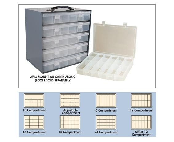 PLASTIC BOXES & STEEL RACKS - OPTION