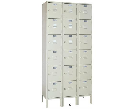 MULTIPLE TIER LOCKERS - KD