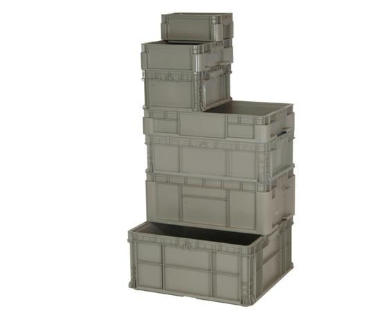 HEAVY DUTY STRAIGHT WALL STACKING CONTAINER