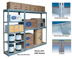 HEAVY DUTY RIVET RACK - EXTRA SHELVES